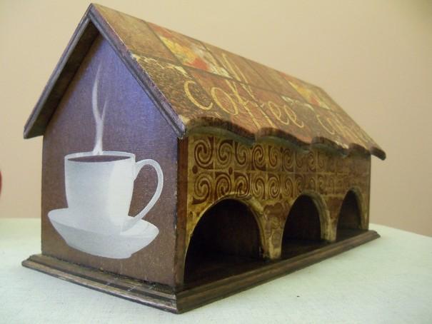 Чайный домик тройной