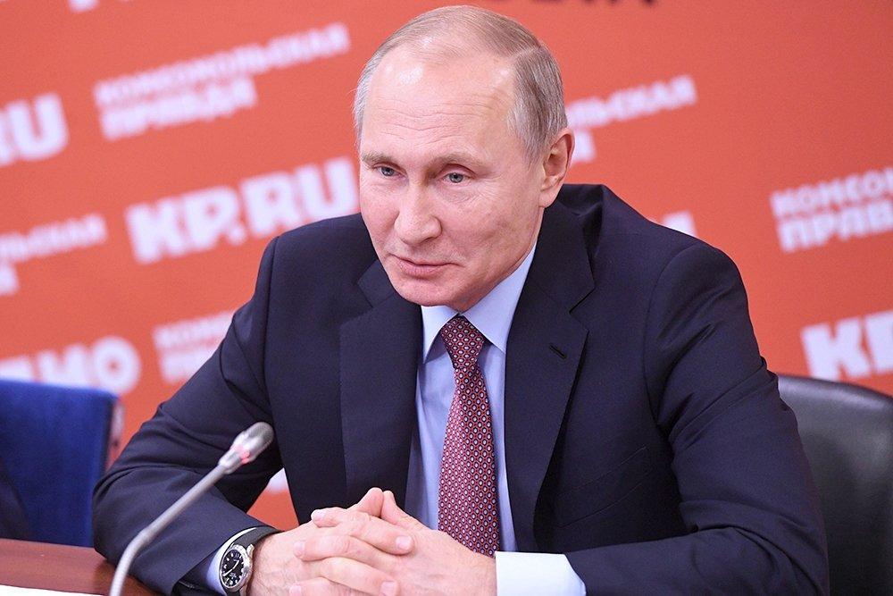 Работа корреспондентов подчас опасна, однако очень нужна— Владимир Путин