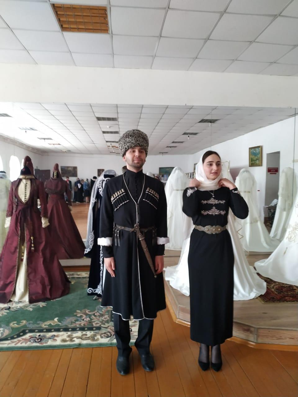 Национальный костюм ингушетии фото