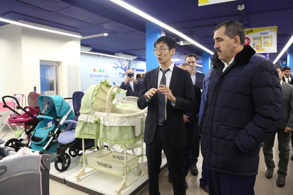 Магас   Первый магазин «Детский мир» открыли в ингушской столице ... 6448942f551