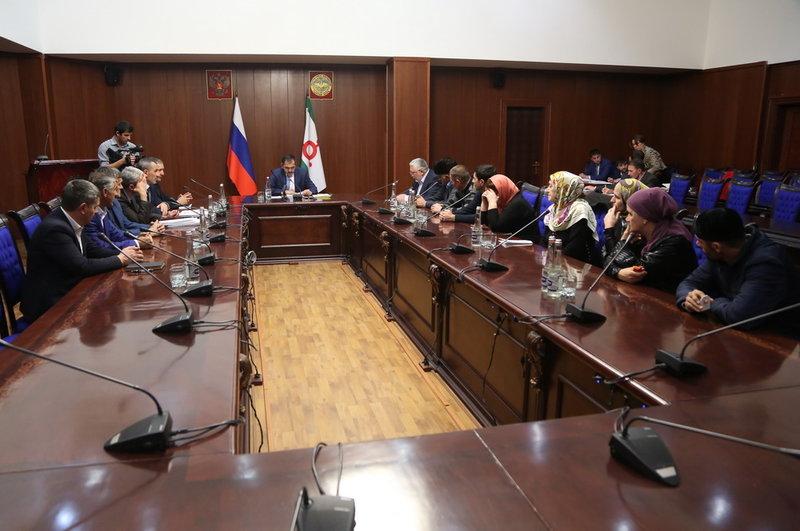 Евкуров сократил руководство Ингушетии занеэффективную работу