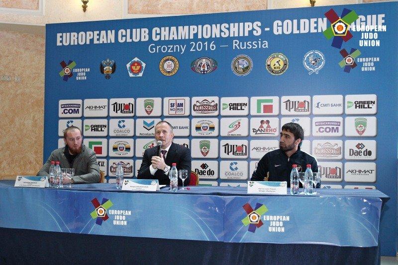 Грузинские дзюдоисты завоевали золото клубного чемпионата вГрозном