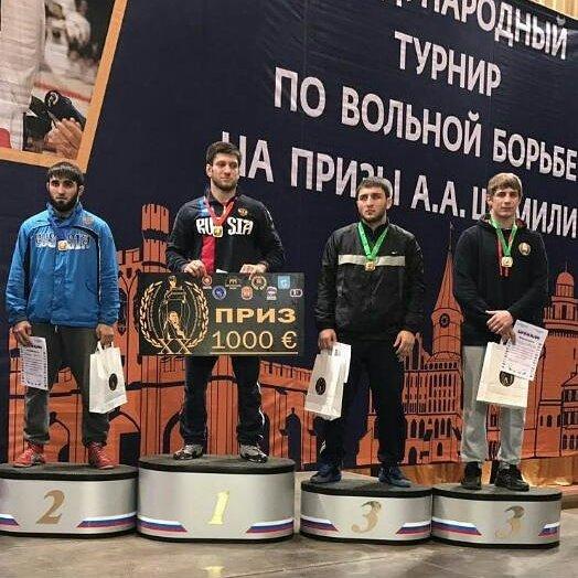 Две медали молодежного интернационального турнира взяли «вольники» изКБР