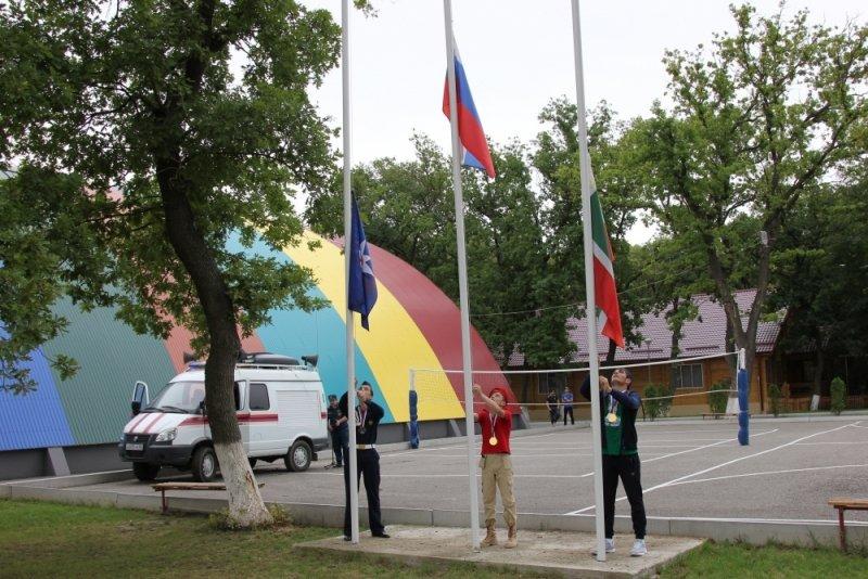 ВЧечне проходит «Школа безопасности-2017»