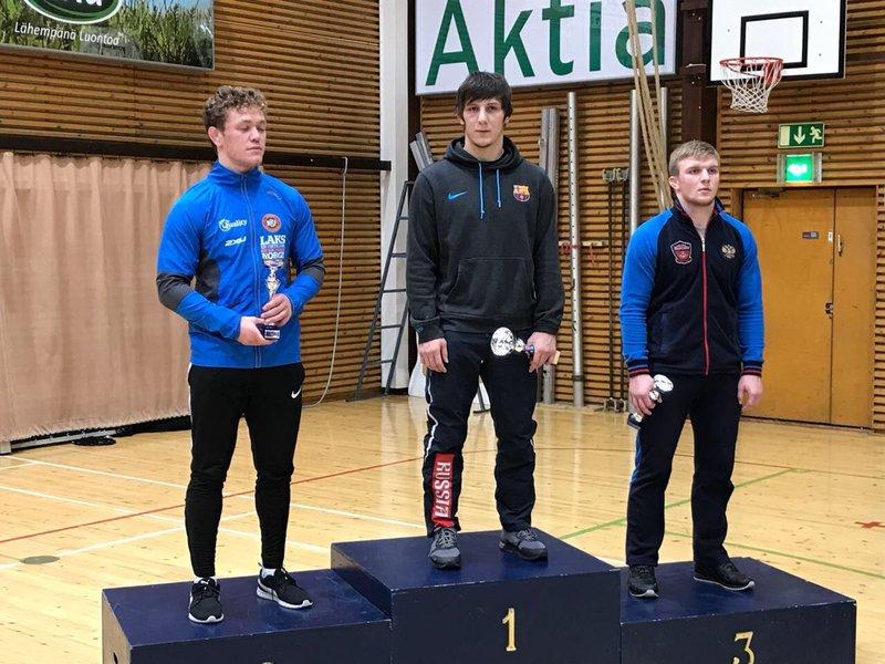 Серебро завоевали ростовские борцы натурнире вФинляндии