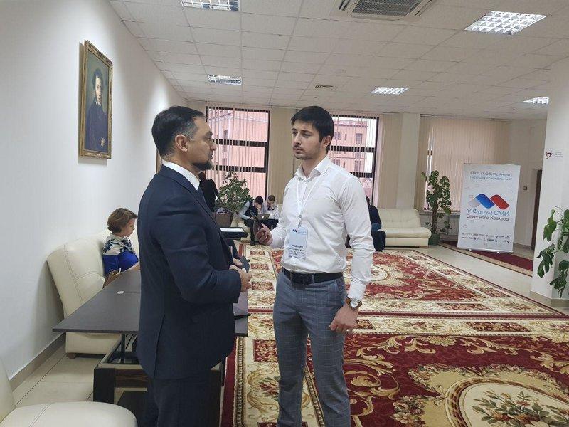 Центральной задумкой экспозиции Дагестана на V консилиуме СМИ СКФО стал проект «ОК»