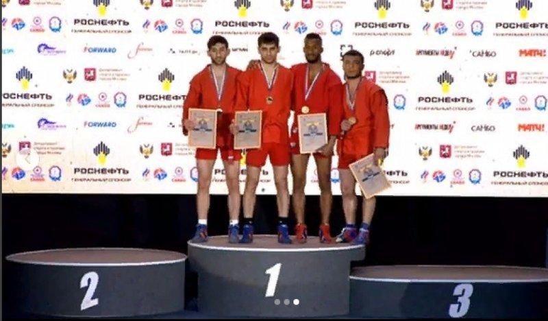 Туркменские самбисты завоевали три медали Кубка мира «Мемориал А. А.Харлампиева»